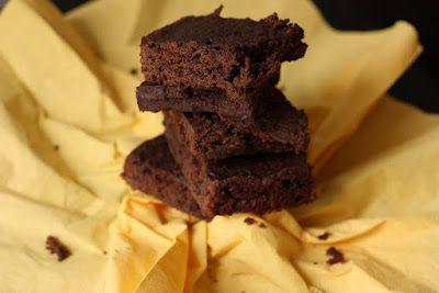 Brownie au chocolat (sans beurre & sans œuf :)