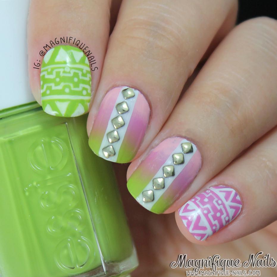 Magnifique Nails: Tribal Nails | Nail designs | Pinterest