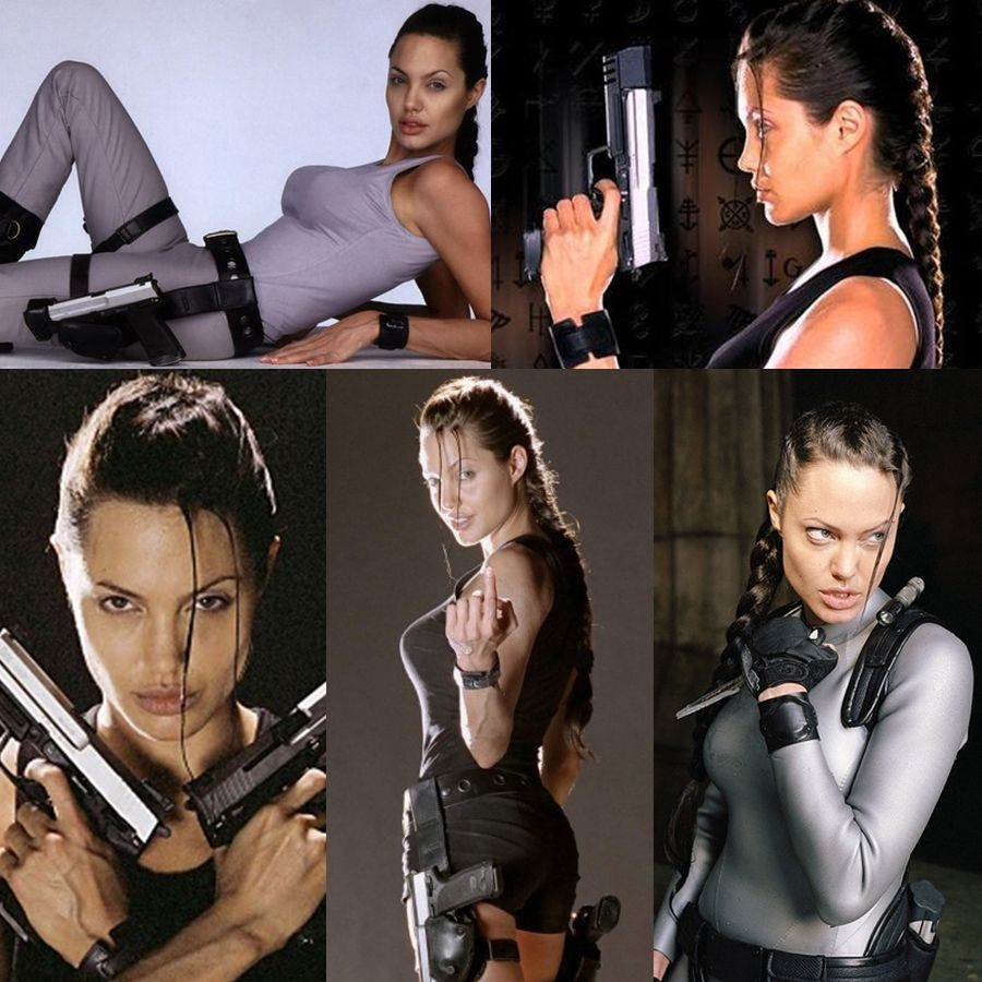 Tomb Raider Lara Croft Angelina Jolie Movie Costume Brad
