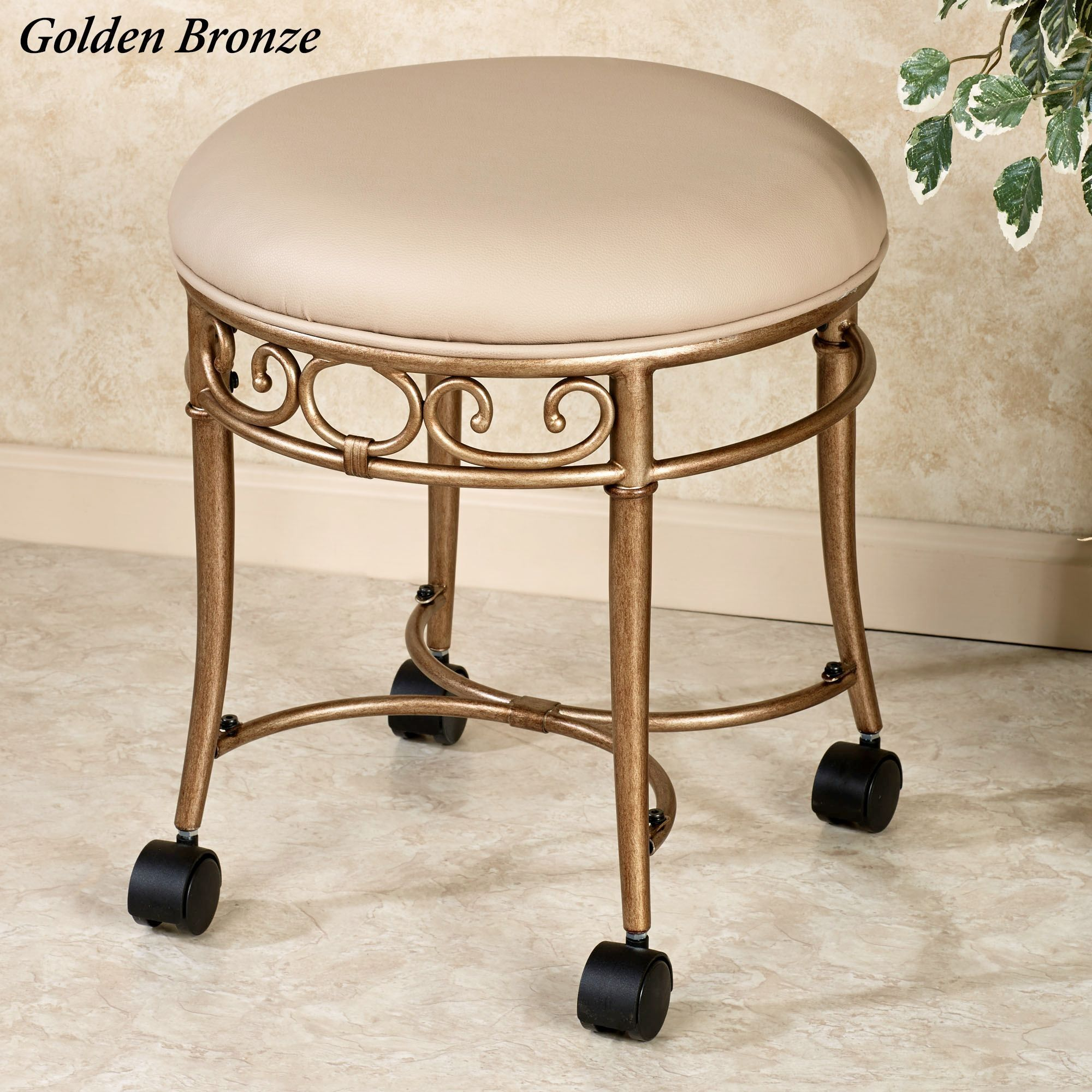 Brilliant Mcclare Vanity Stool Furniture Vanity Stool Bathroom Gmtry Best Dining Table And Chair Ideas Images Gmtryco