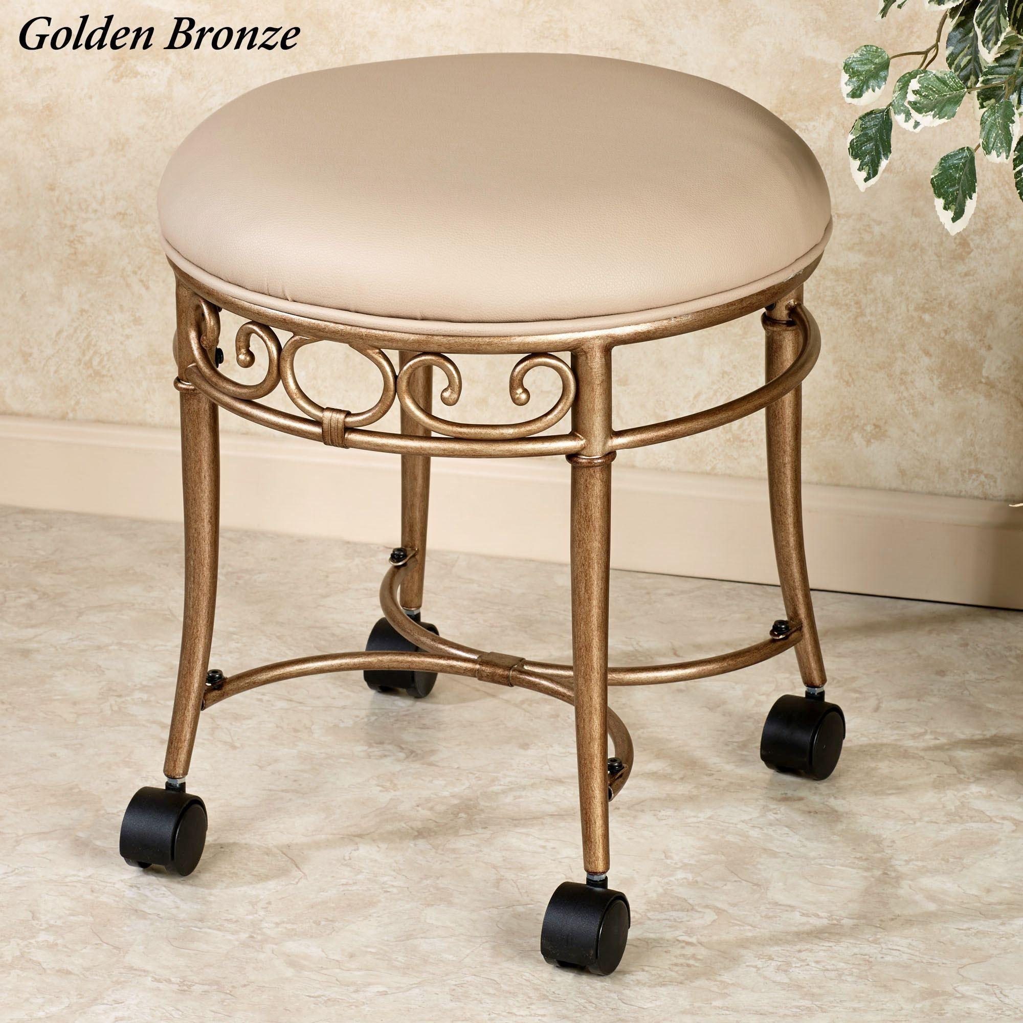 Vanity Bathroom Bench mcclare vanity stool   vanity stool, stools and vanities