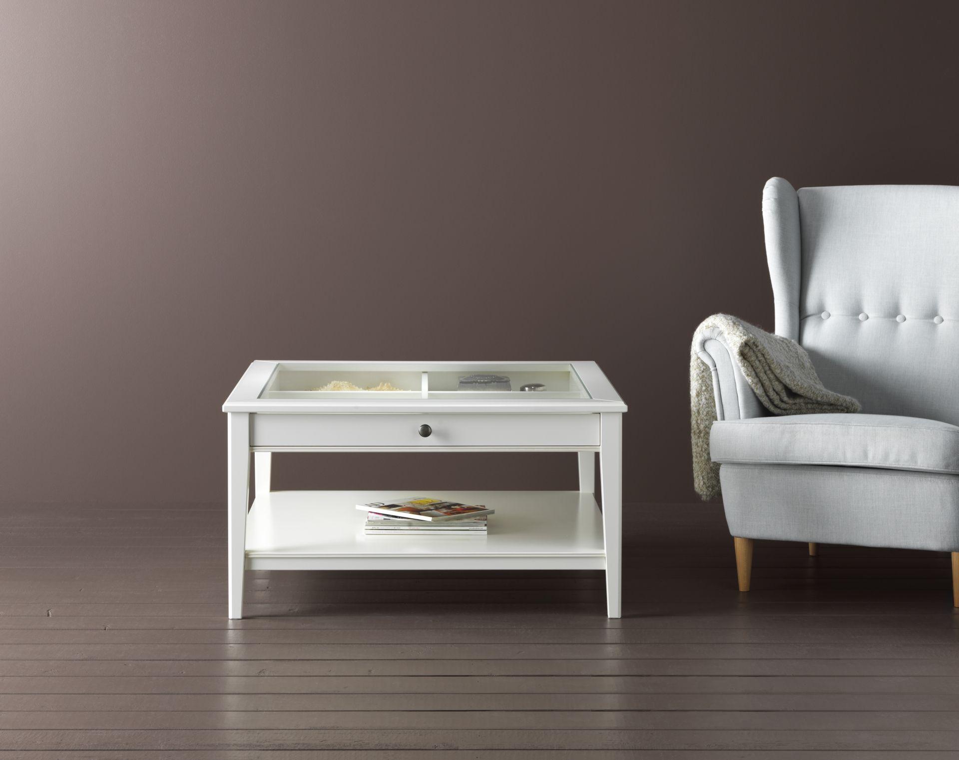 Glazen Tafel Ikea : Liatorp salontafel wit glas ikea catalogus 2017 pinterest