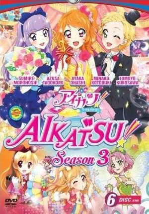 Aikatsu Season 3 The Complete Series