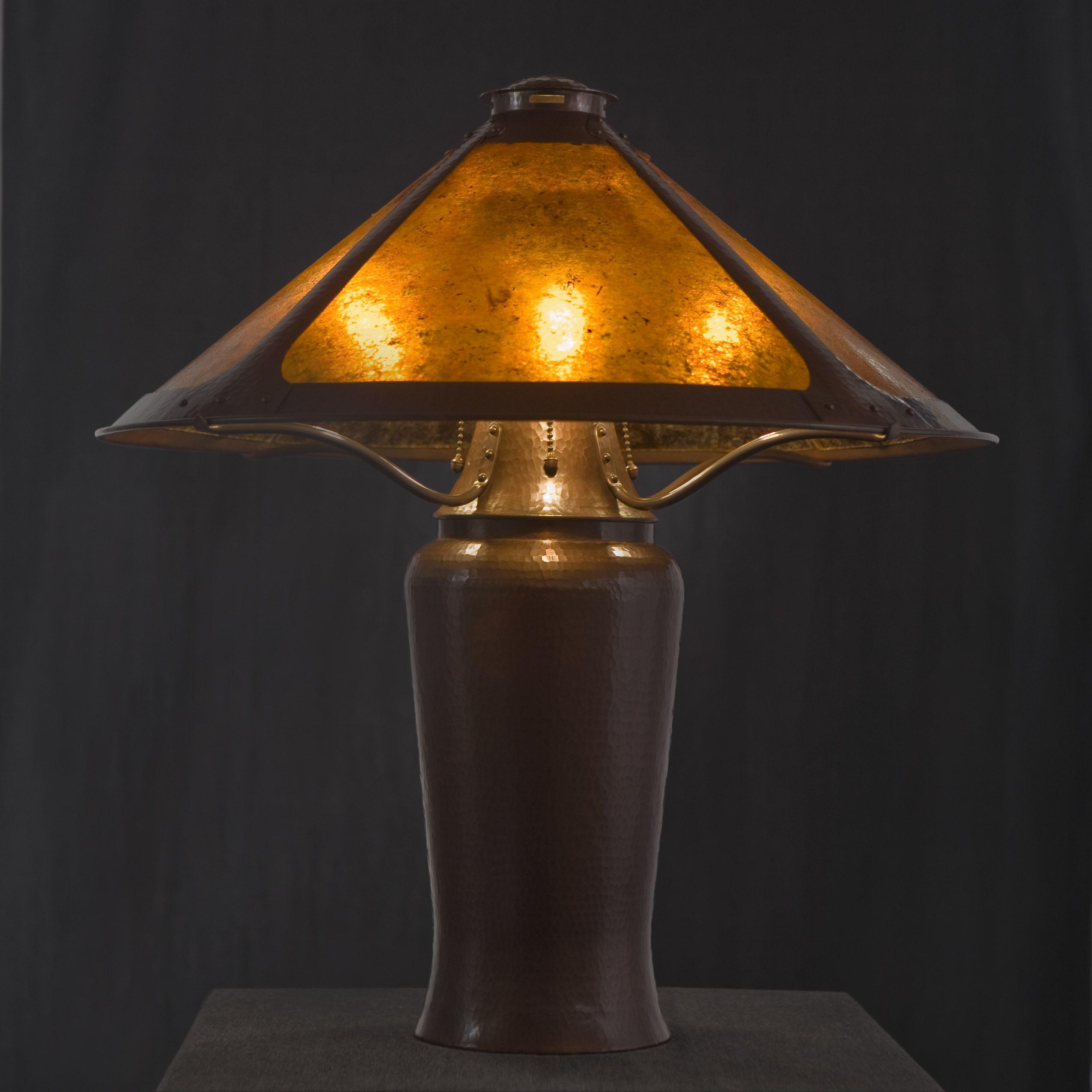 Dirk Van Erp Milk Can Lamp Reproduction Table Lamp Lamp Copper Lighting