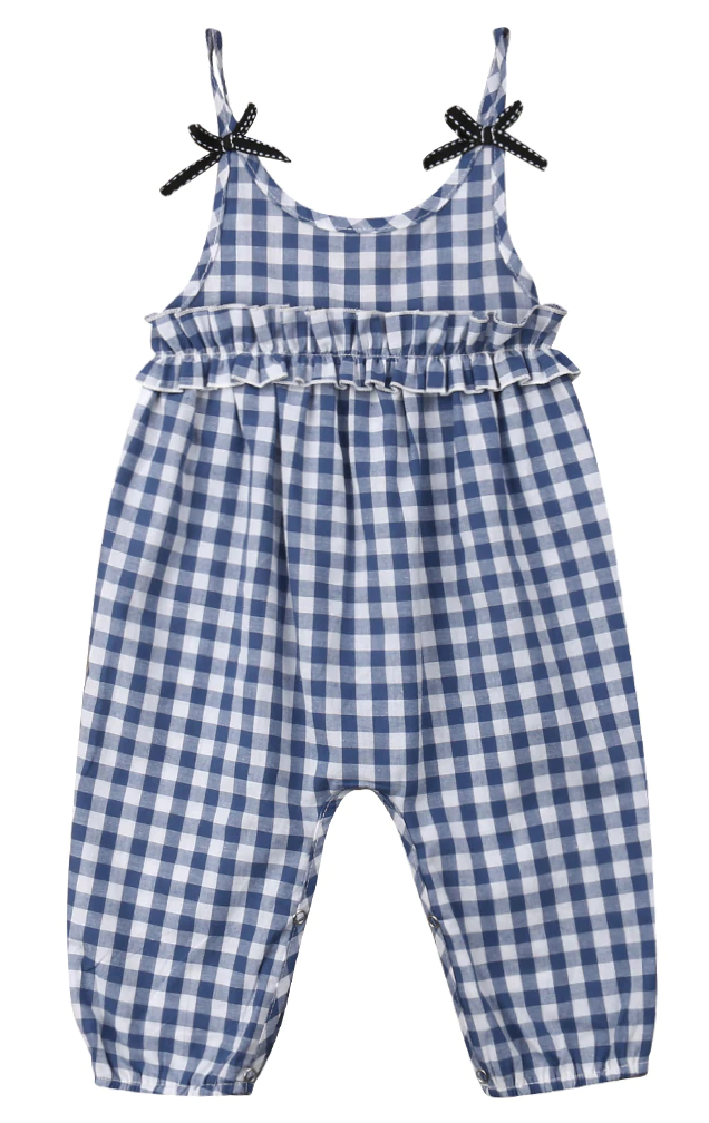 8f1822482 SALE 65% OFF + FREE SHIPPING! SHOP Our Spaghetti Strap Jumpsuit for Baby  Girls
