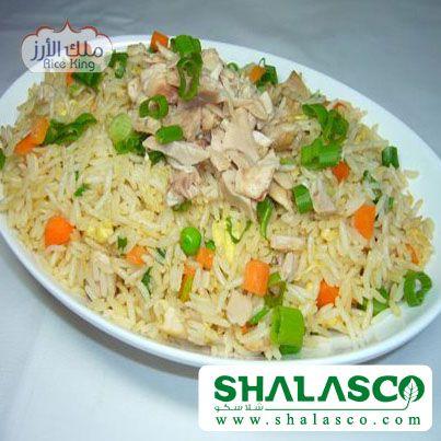 طريقة عمل الأرز الصيني بالدجاج طرق طبخ الارز ملك الأرز Indian Food Recipes Fried Rice Chicken Fried Rice
