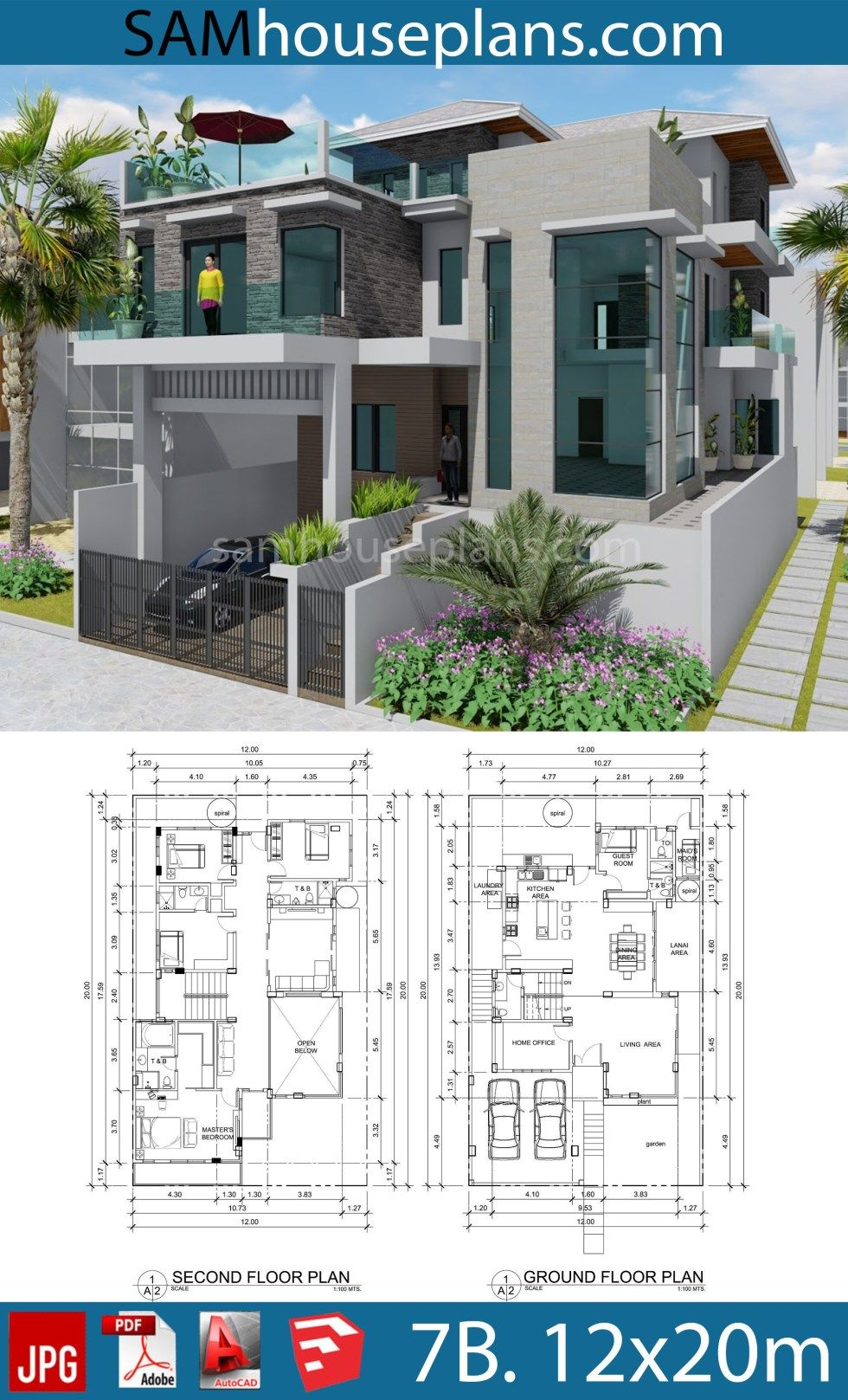 House Plans 12mx20m with 7 Bedrooms | Architectural house ... on seven bedroom ranch floor plans, six bedroom floor plans, 3 bedroom house floor plans, southern house plans, 6 bedroom open floor plans, 9 bedroom house plans, 8 bedroom house floor plans, castle mansion house plans, 10 bedroom house floor plans, 18 bedroom house floor plans, 2 bedroom 2 bath house plans, 7 bedroom house with pool, 5 bedroom house floor plans, 6 bedroom 1 level floor plans, 6 bedroom modular home plans, 15 bedroom house floor plans, outdoor furniture floor plans, 7 bedroom floor plans open, 20 bedroom house floor plans,