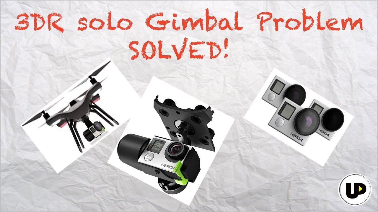 How to fix 'gimbal shaking' in 3DR Solo drone - YouTube