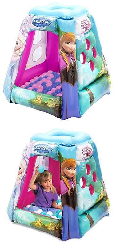 Pit Balls 145996 Disney Frozen Princess Elsa Anna Olaf Ball Pit Bounce House Toy Tr&oline  sc 1 st  Pinterest & Pit Balls 145996: Disney Frozen Princess Elsa Anna Olaf Ball Pit ...