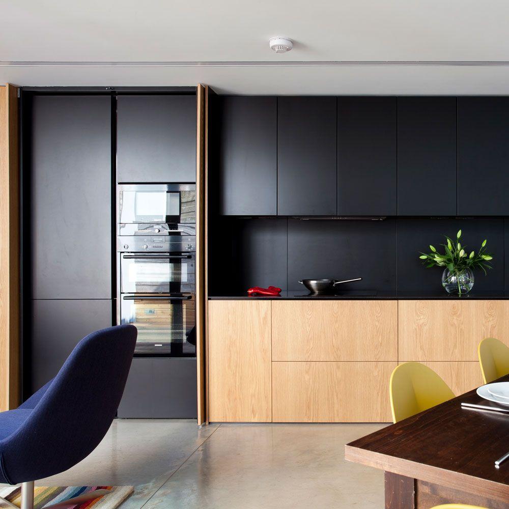 Black kitchen trend 9   Ideal Home   Black kitchens, Interior ...