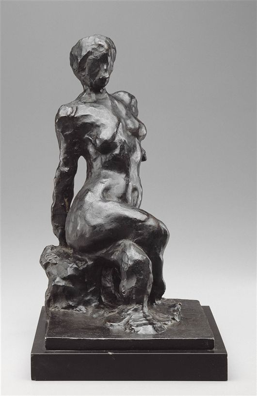 HENRI MATISSE Zittend naakt arm achter de rug 1909