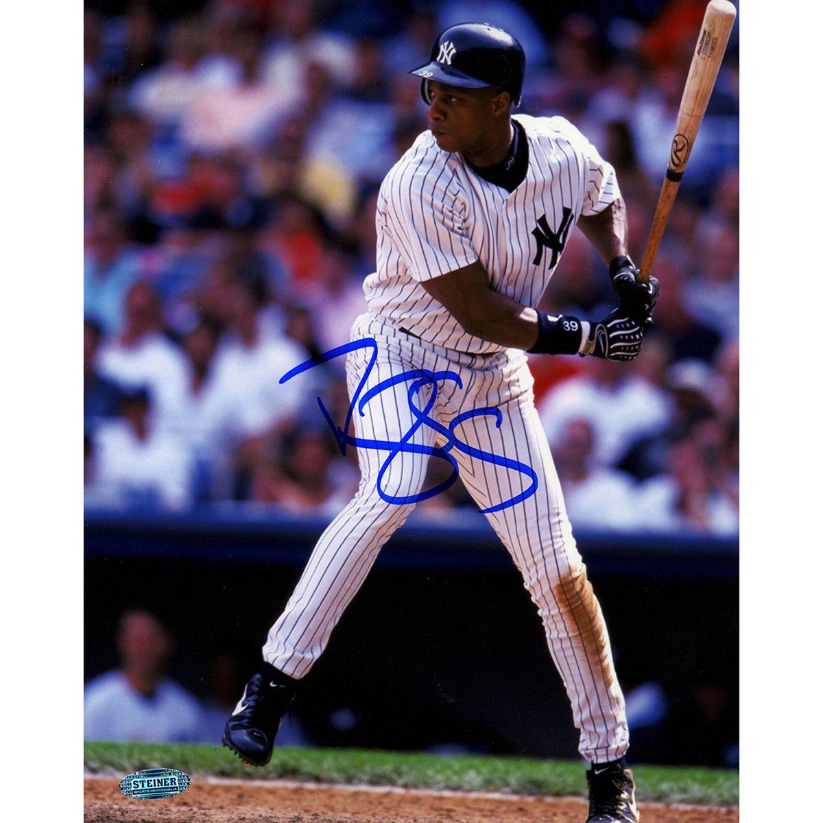 Darryl Strawberry Ny Yankees Pinstripes Batting 8x10 Photograph Baseball Photos Ny Yankees Darryl Strawberry