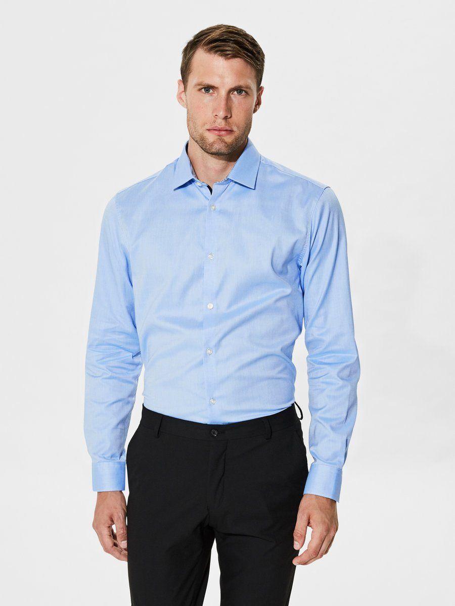 0fd6cd7f0e59 Selected Homme Slim-Fit- Langarmhemd Jetzt bestellen unter  https   mode