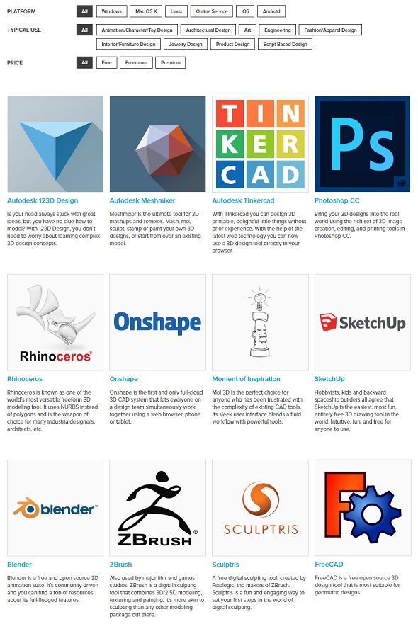 How to Find the Best 3D Modeling Software for 3D Printing
