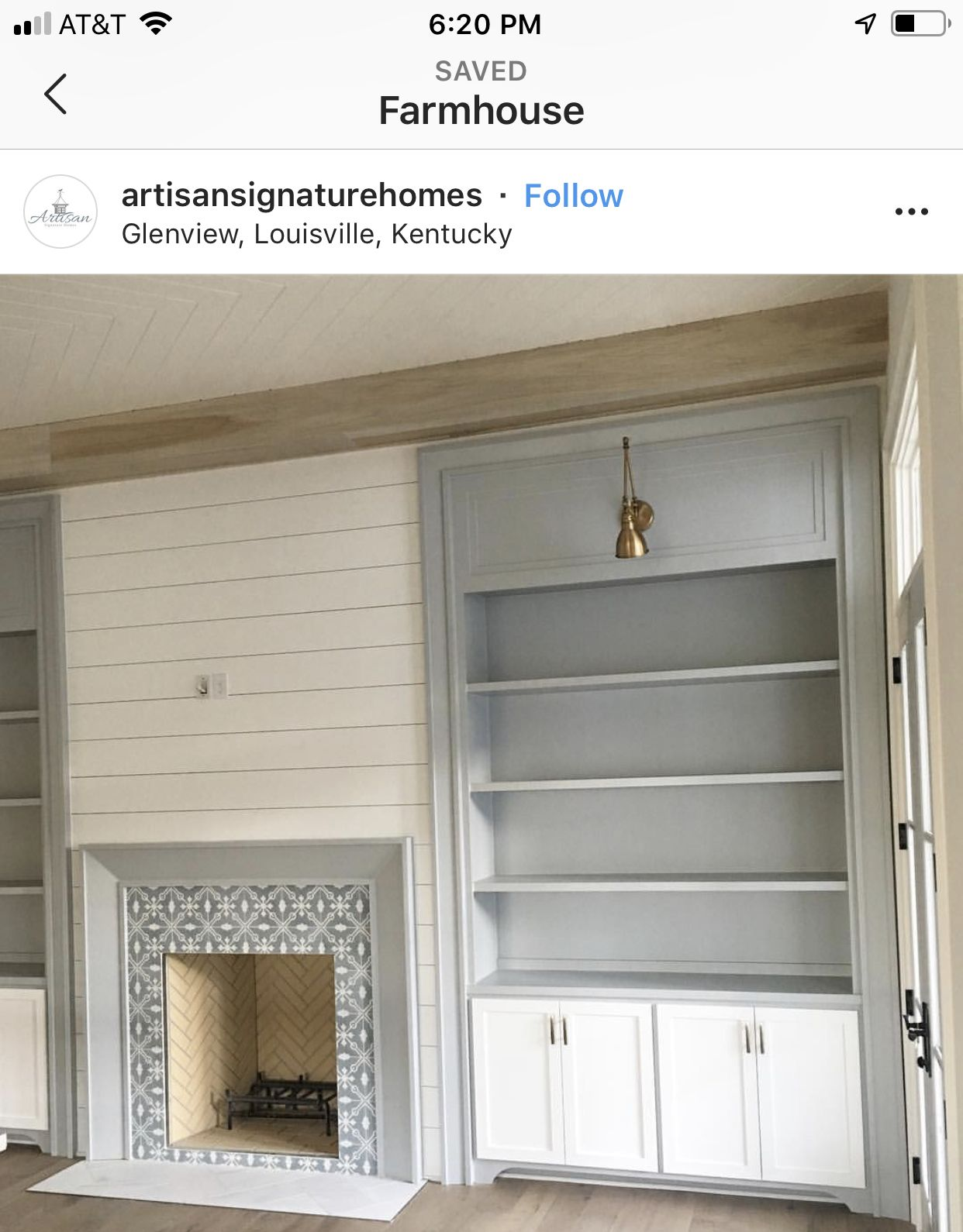 We Like The Style And Color Of The Bookshelf Fire Place To Have Shiplap Ceramic And Beam Home Fireplace Fireplace Built Ins Fireplace Bookshelves