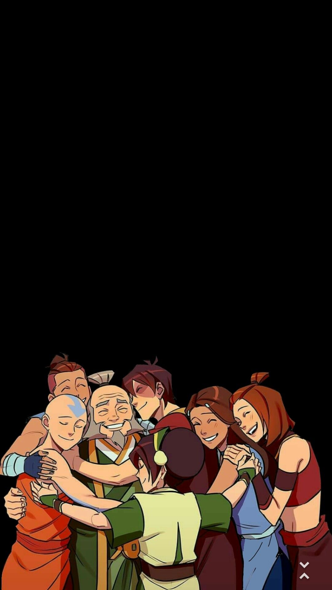 Team Avatar And Uncle Iroh In 2020 Avatar Cartoon Avatar Airbender Avatar Legend Of Aang