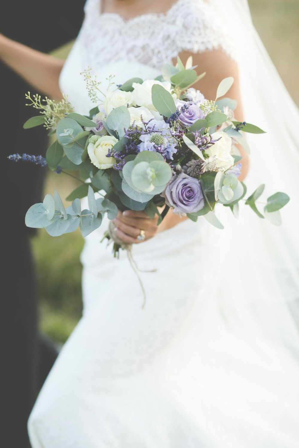 Ed and beckyus beautiful summer devon wedding wild flower bouquets