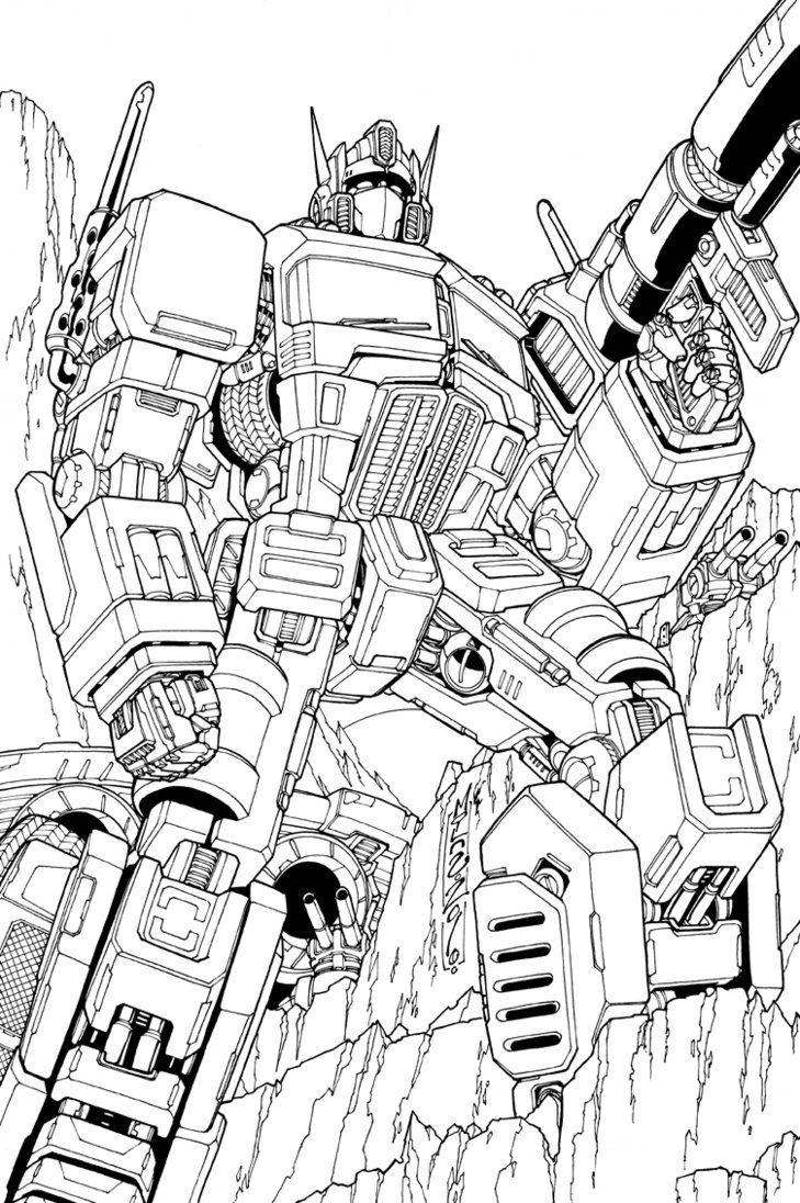 Optimus Prime Lineart Transformers Coloring Pages Transformers Drawing Transformers Artwork