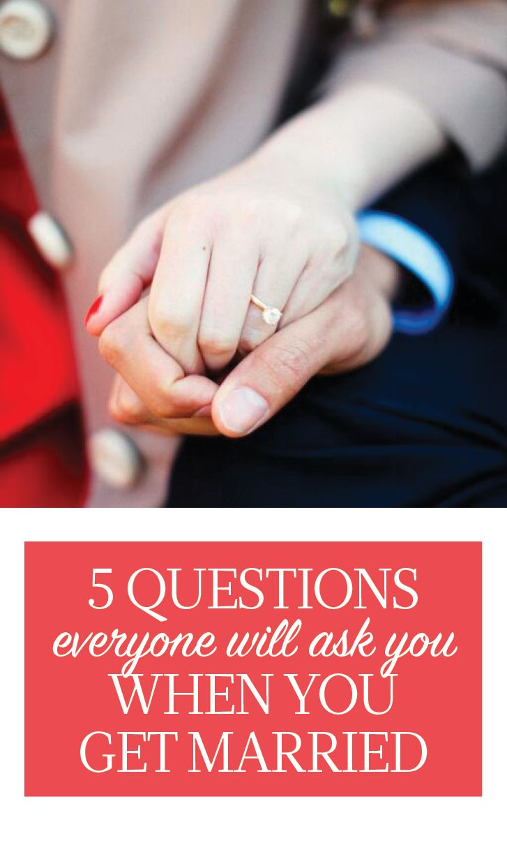10 Questions Everyone Will Ask After You Get Married | Got