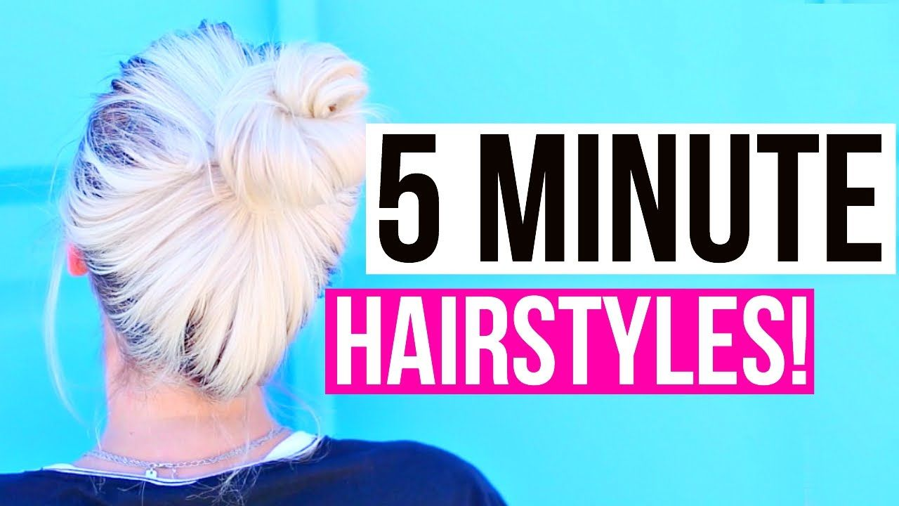Easy minute hairstyles for back to school aspyn ovard