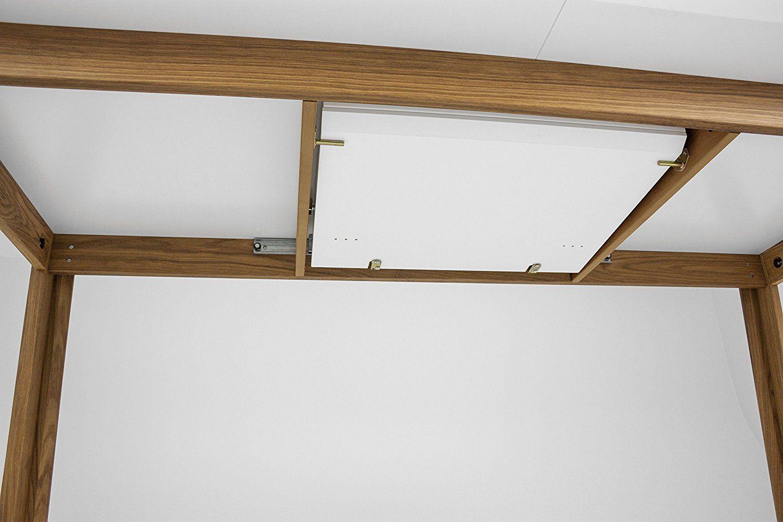 Tenzo 5960-454 Profil Designer Ausziehtisch, 75 x 210 - 270 x 95 cm, weiß / eiche: Amazon.de: Küche & Haushalt