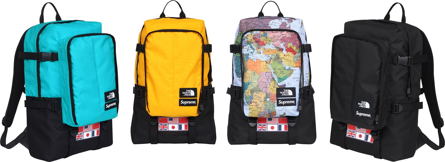 The North Face X Supreme Expedition Medium Day Pack
