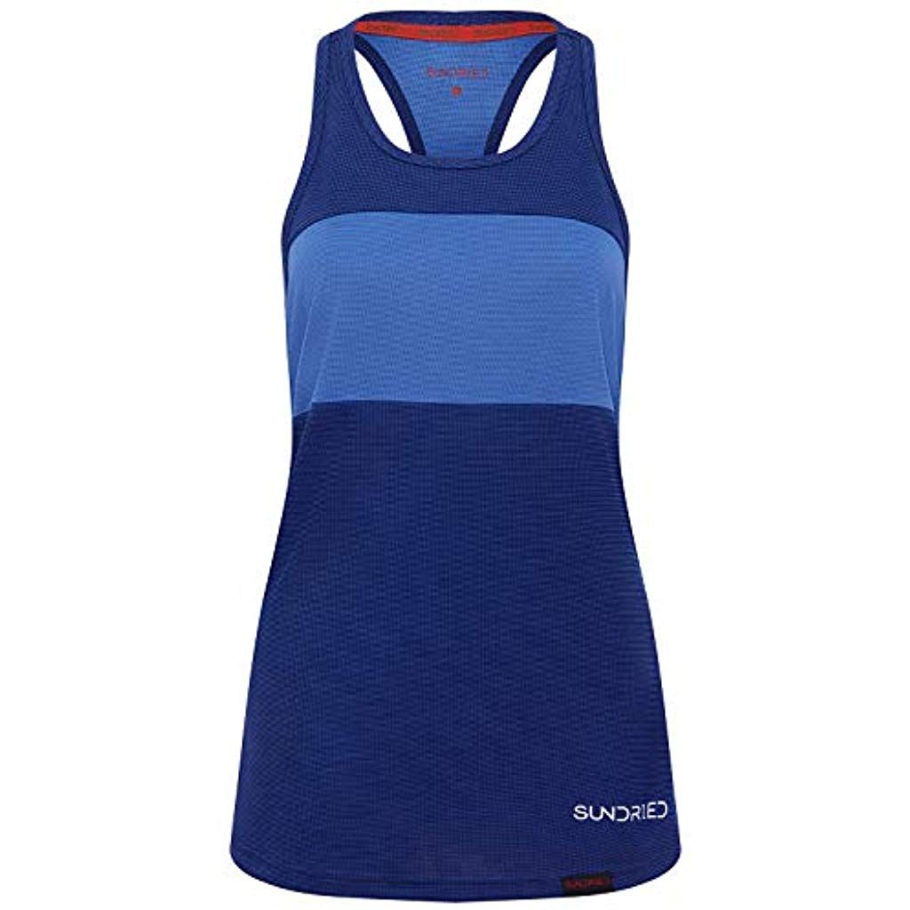 Sundried Womens Sports Vest Yoga Wear Sleeveless Racerback Training and Gym Tank Top #Fitness #Yoga...