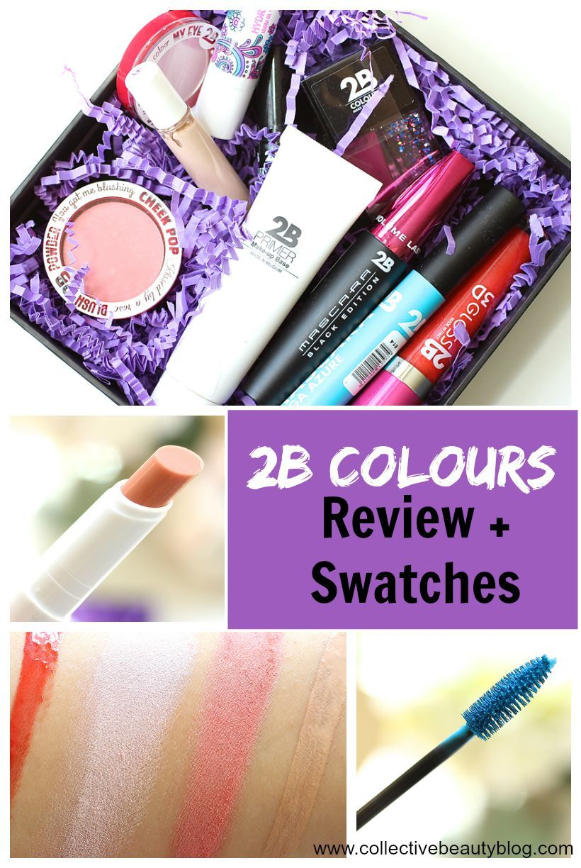 2B Colours Review & Swatches Swatch, Beauty blog, Color