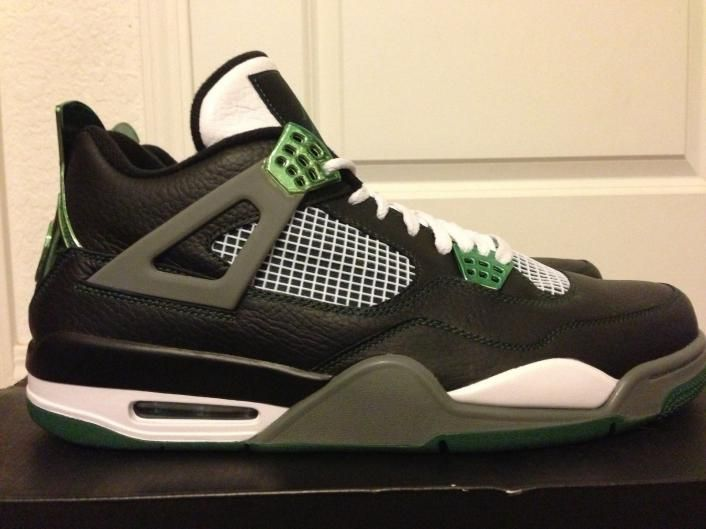 Image: $5,000 Air Jordan 4 Oregon Ducks PE
