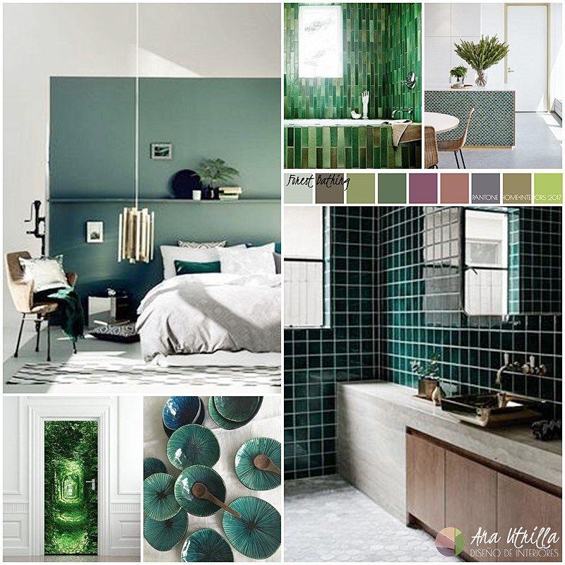 Colores pantone 2017 en decoraci n de interiores paleta for Decoracion interiores online