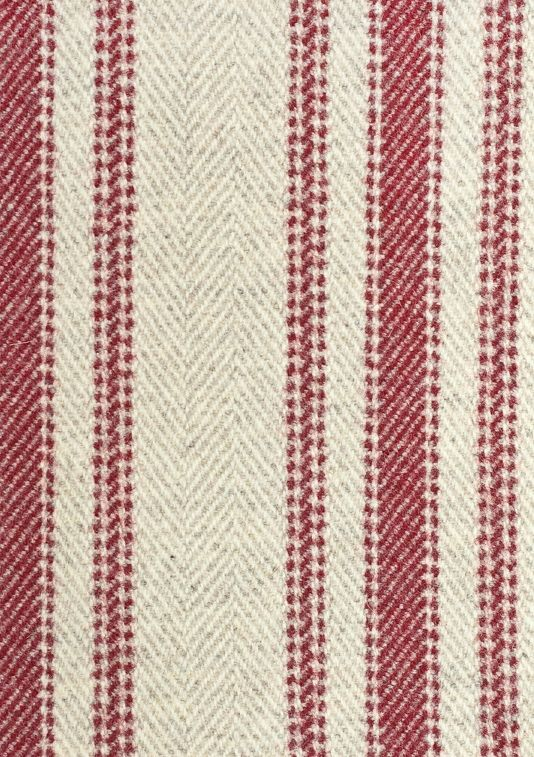 Drummond Stripe Fabric Striped chevron wool upholstery fabric in ...