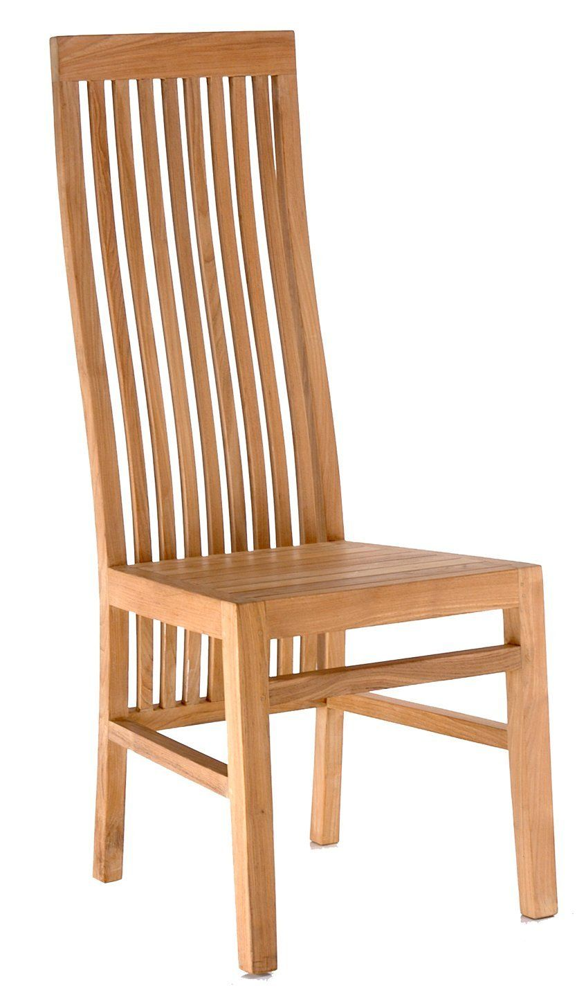 chic teak furniture. Amazon.com : Teak West Palm Side Chair Made By Chic Patio, Furniture C