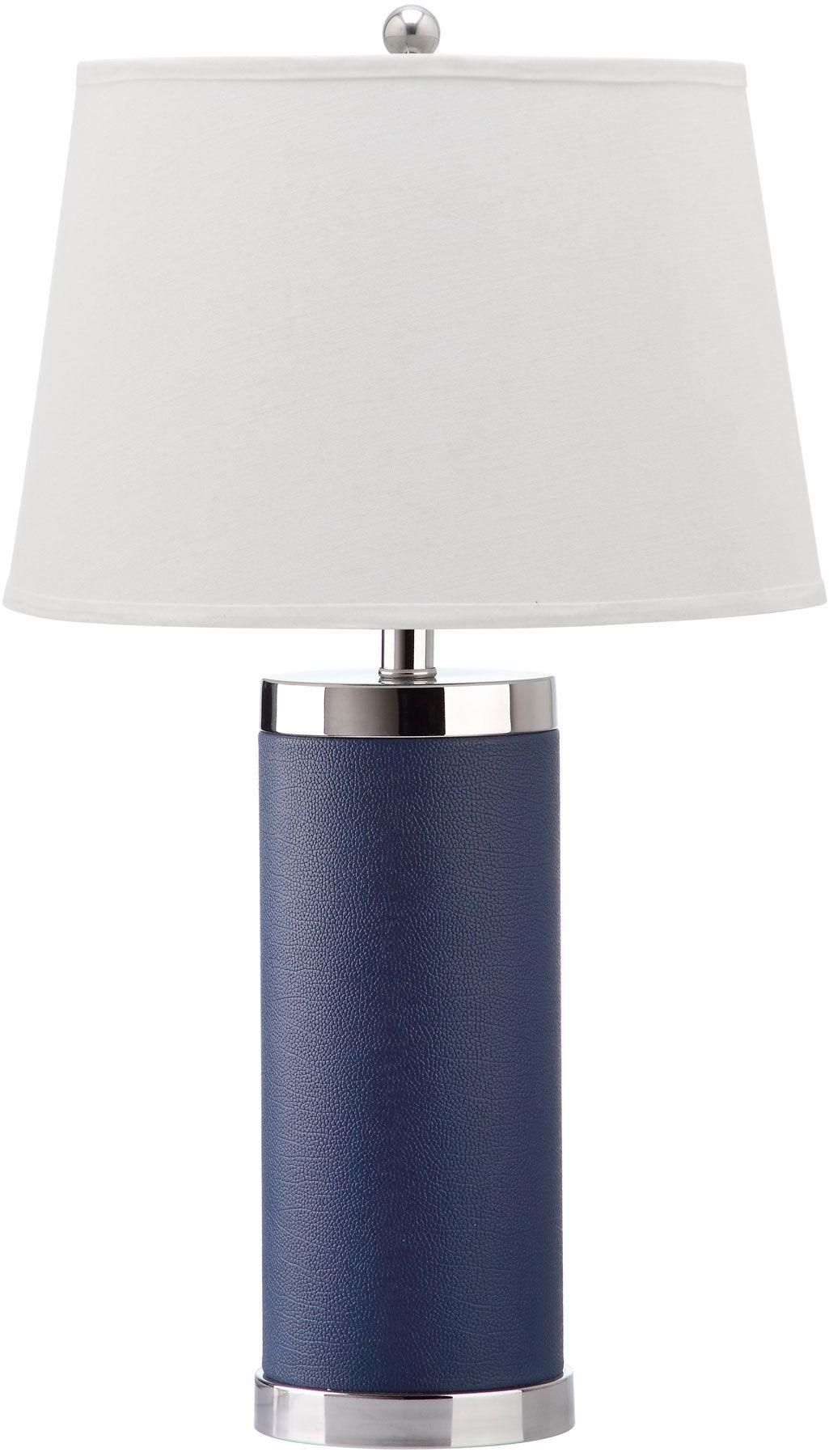 navy blue desk lamp - Navy Blue Table Lamp