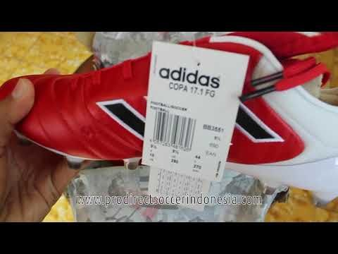 Sepatu Bola Adidas Copa 17 1 Fg Red Core Black Bb3551 Original