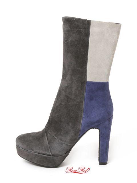 #RosaRot# Villa6 Stiefelette http://shop.stoeckelwild.eu/schuheshoes/rosarot-villa6-stiefelette/