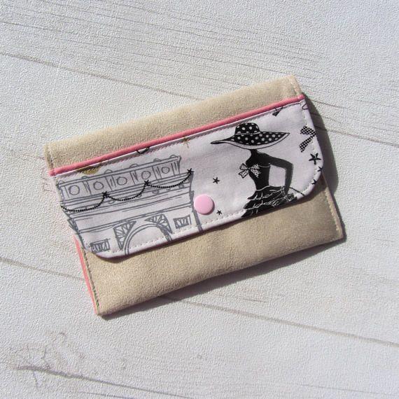 mini pouch papers car case storage la parisienne id. Black Bedroom Furniture Sets. Home Design Ideas