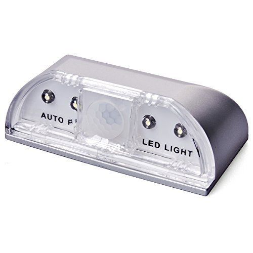 Cheap 4 LED Light PIR Auto Keyhole Led Sensor Doors Motion