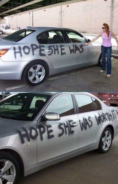Can I do this? Cheating Boyfriend - funny pictures - funny photos - funny images - funny pics - fun