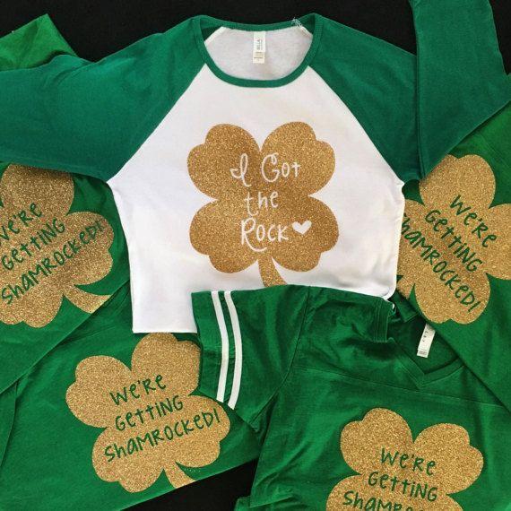 5688c7ad3 St. Patrick's Day Bachelorette Party Shirts by BottlesToBottles ...