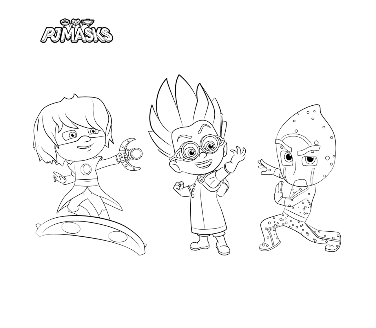 Ausmalbilder Geburtstag 48 : Pj Masks Coloring Pages To Download And Print For Free Festas