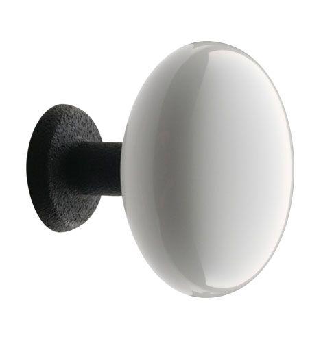 Rejuvenation Hardware 1-3/4in. Porcelain Cabinet Knob   Cast Iron Base Item #C0446 $11