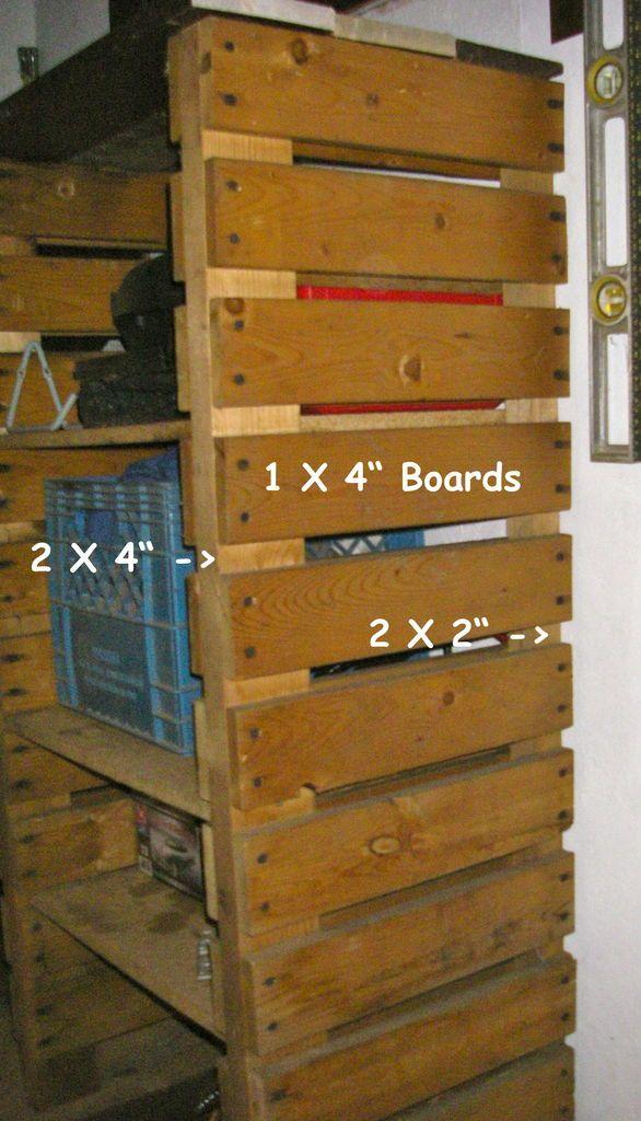 Ultimate Adjustable Wooden Shelving Office Pallet