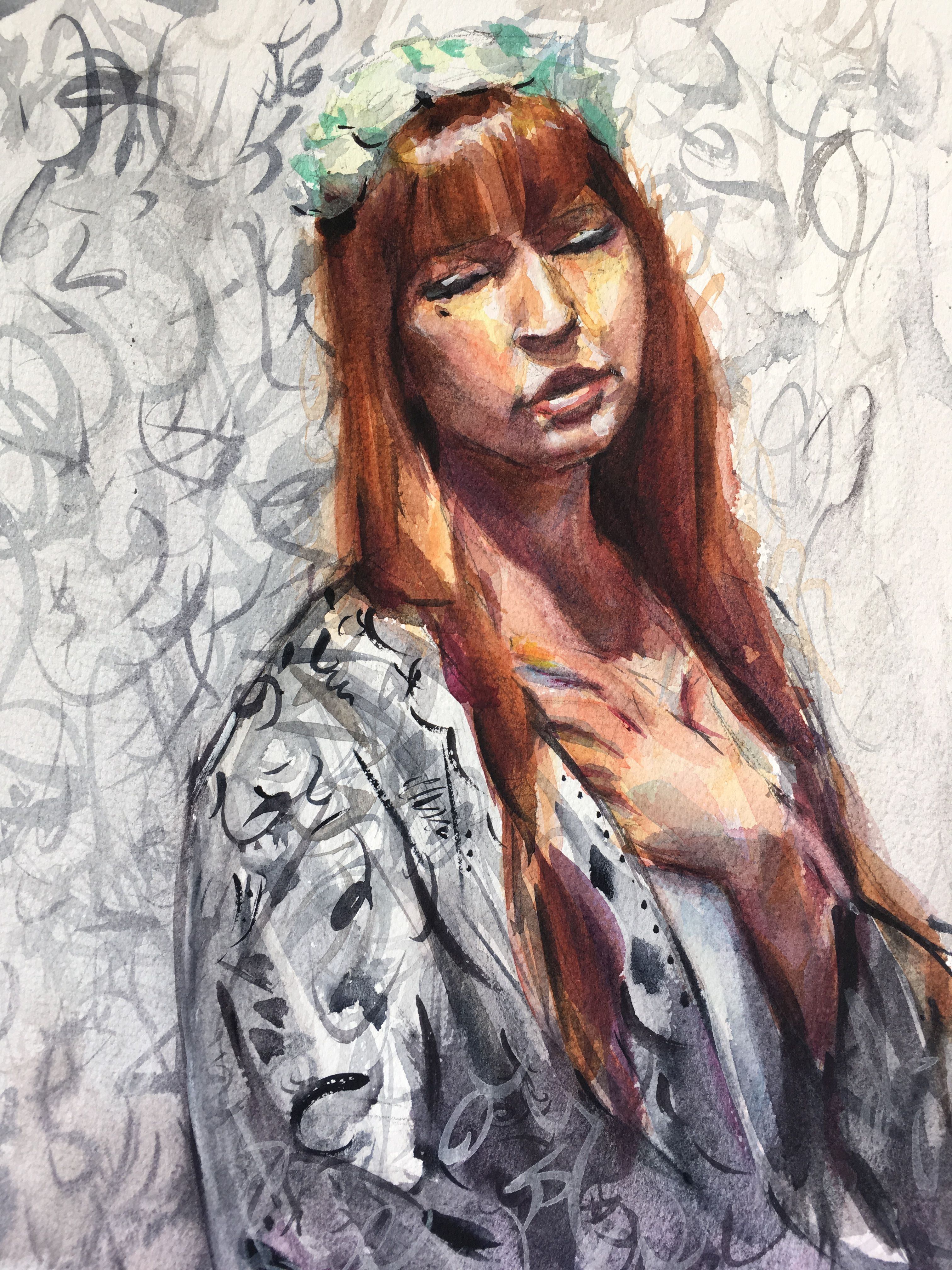 Painted during open studio at scottsdale artists school