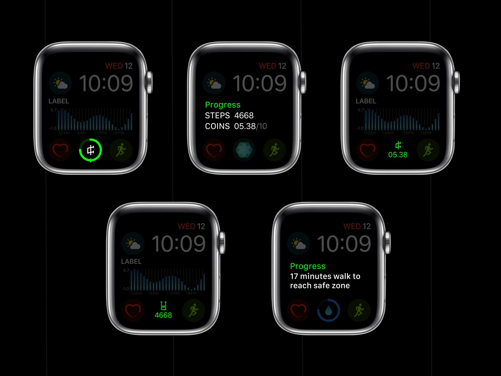 Complications Apple Watch App Concept