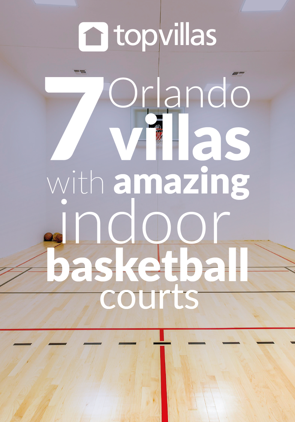 11 Orlando Villas With Amazing Indoor Basketball Courts Top Villas Indoor Basketball Court Indoor Basketball Orlando Villa