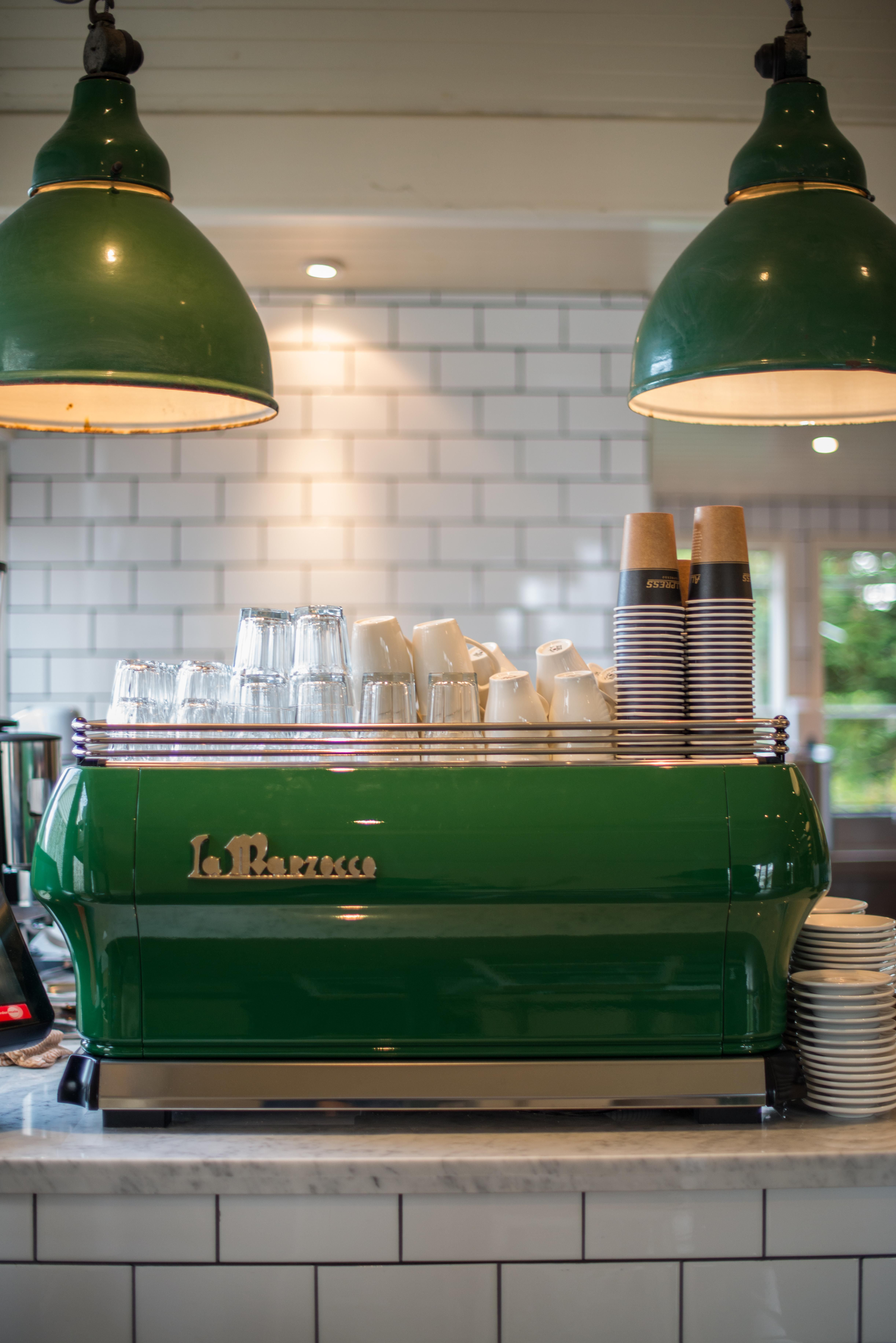 beautiful custom painted la marzocco fb80 | coffee makers
