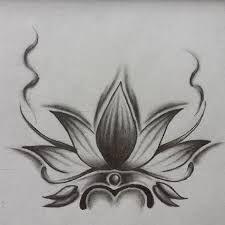 Resultado De Imagen De Dibujo Flor De Loto Simple Tatoo