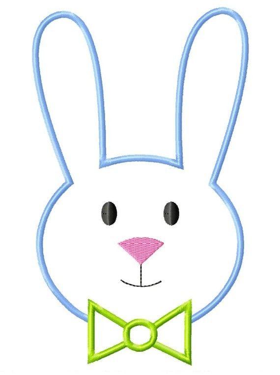 Easter Rabbit Outline