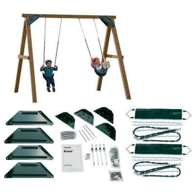 Swing N Slide Playsets Do It Yourself One Hour Custom Play Set