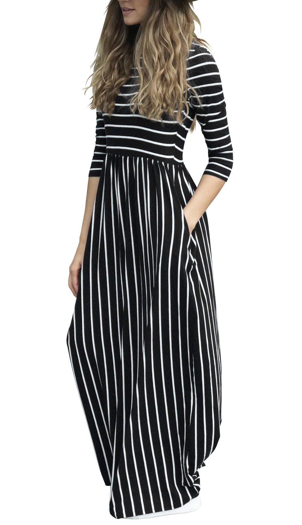 Maternity dresses ofeefan women sleeve casual elastic waist